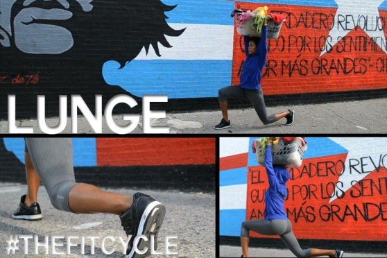 #TheFitCycle Lunge